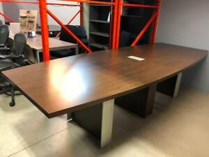 10ft Boardroom Table with Power Module - $499