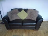 Grren and brown cushions x7 good condition from non smoker non pet home