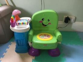 Fisher price talking chair