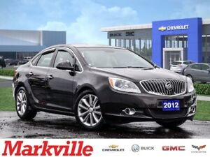 2012 Buick Verano LEATHER EDN-GM CERTIFIED PRE-OWNED-1 OWNER-CLE