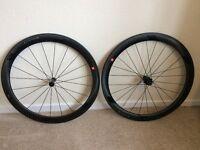 3T Orbis II T50 Carbon tubular road racing wheel set