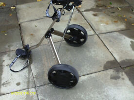 EVOLUTION PLUS E525 STRONG GOLF PUSH TROLLEY