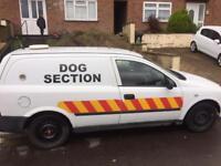 Ex security Vauxhall 2003 van for sale