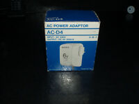 SONY AC - D4 POWER 6 VOLT ADAPTER