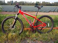 Specialized Hardrock 2014 Hardtail Mountain Bike Small Adults