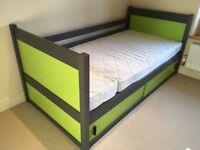 Kids Bed and IKEA Mattress