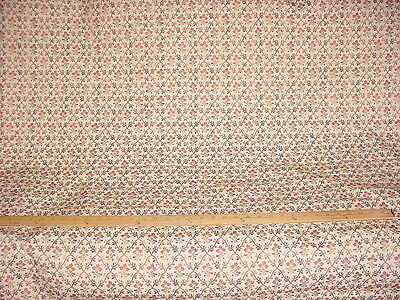 5+Y BRUNSCHWIG ET FILS EXQUISITE FRENCH FLORAL LAMPAS BROCADE UPHOLSTERY FABRIC