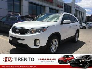 2015 Kia Sorento EX PLUS V6|Panoramic Sunroof|Leather|One Owner|