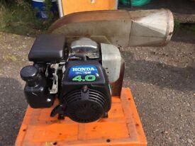 Honda petrol bouncy castle blower