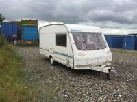 Sterling Europa 1999 4 berth cassette toilet shower oven grill and hobs blow heating blinds