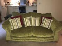 2x 2-seater sofas