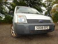 08 FORD TRANSIT CONNECT 1.8 DIESEL PANEL VAN,MOT AUG 018,2 OWNERS,2 KEYS,PART HISTORY,LOVELY VAN