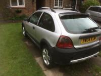 Rover streetwise 1.4 12 months new mot