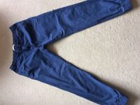 CELIO mens brand new navy trousers size 34/32 regular fit
