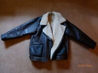 Lady's Leather Flying Jacket. Fantastic Condition.