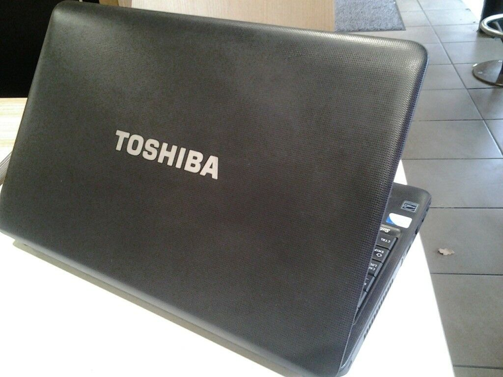 Toshiba C650-166 wireless, webcam, business 15.6' aptop. 250Gb hdd, 6Gb ram, Win 7, Office, charger