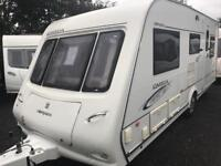 Compass omega 525 2009 5 berth touring caravan