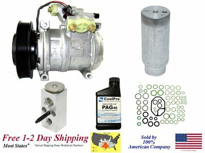 New AC A/C Compressor Kit For 1998-2002 Chrysler Concorde 2.7L only