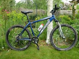 Specialized mountain bike for sale.