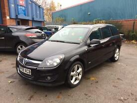 2009 VAUXHALL ASTRA 1.8 SRI PETROL ESTATE # LOW MILEAGE # SAT NAV # TIDY CAR # CAT D