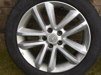 "Vauxhall 17"" 10 Spoke Alloy Wheels."