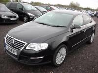 VOLKSWAGEN PASSAT 2.0 HIGHLINE PLUS TDI 4d 138 BHP (black) 2010