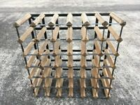 Wooden Wine Rack 36 bottle storage capacity