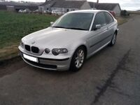 2005 BMW 3 Series 316i E46 Compact 2 door BREAKING FOR PARTS Spares N46b18 Silver