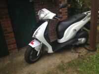 Honda ps 125 cheap bike excellent condition perfect for delivering