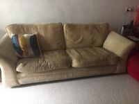 Free 3-seater sofa available.