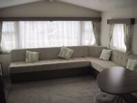 For sale used preowned cheap static caravan holiday home, sited. Payment options available. Devon.