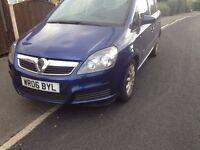 Vauxhall Zafira 1.6 Blue 7 seater