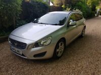 61 Plate Volvo V60 1.6 SE Drive DIESEL Top Spec - Leather Heated Seats Only £30 Tax** Mot Feb 2019