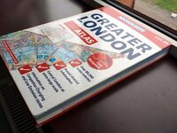 Nicholson's Greater London Road Atlas (Street Finder) (Hardback) (480 Pages)(4.00£ Only)(RRP 24.99£)