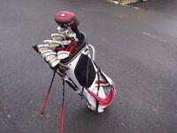 Mizuno bag and clubs