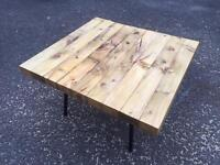 Upcycled Solid Wood Coffee Table