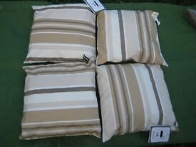 Four Brand New Patterned Cushions for £10.00