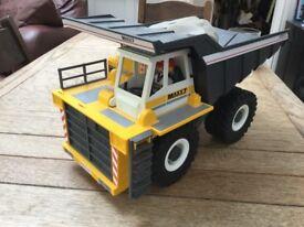 Playmobil dumper truck