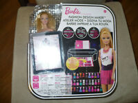 Barbie Fashion Design Maker Doll, like new in box.