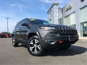 2017 Jeep Cherokee TRAILHAWK 1 OWNER, BACKUP CAM, AUTO START