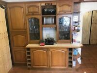 Solid Wood Kitchen with Appliances