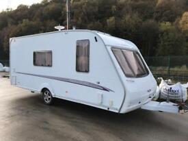 2005 Swift Challenger 520 - 4 berth end washroom, Complete with free used Bradcot Awning - Bargain!