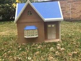 Slyvanian blue cottage