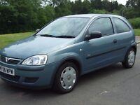 Vauxhall Corsa 1.2i Club 16v , ----- 2006 06 ----- , Excellent Condition