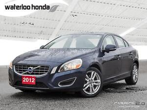 2012 Volvo S60 T6 AWD, Back Up Camera, Leather and More!