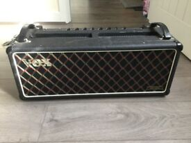 Vox v125 Lead Head unit Guitar Amp Circa 1980s