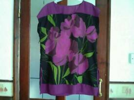 Ladies size 14 dress top