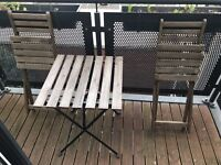 Garden & Patio furniture set for outdoor/indoor use (foldable)