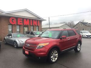 2011 Ford Explorer Limited 20's Navi Dual Roof Tech Package