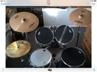 Adult Size Full Drum Kit £300 Ono